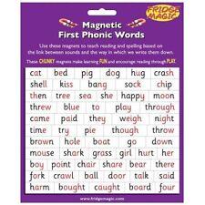 Primero magnético mágico nevera Phonic Palabras palabras/estrategia de alfabetización m3