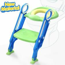Toddler Toilet Chair Kids Potty Training Seat with Step Stool Ladder Us Stock