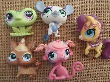 Littlest Pet Shop Assorted Pets Tv Show Style Frog Monkey Dog Horse Mouse B2