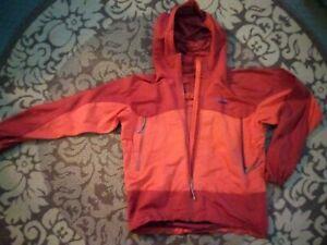 Patagonia Regulator Hooded Parka Jacket Men's Medium (Large) Red Orange