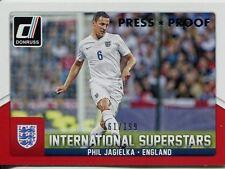 Donruss Soccer 2015 Silver [199] Int. Superstars Chase Card #40 Phil Jagielka