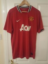 Manchester United Football Shirt Jersey Home 2011/12 Nike Size XL Mens England