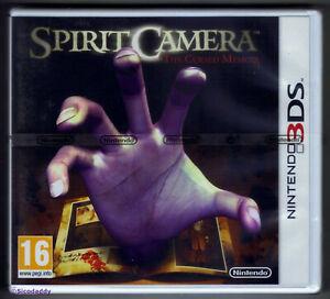 Nintendo 3DS Spirit Camera (2012) UK Version, Nintendo Factory Sealed, *Flawed*
