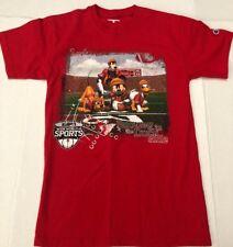 Champion Disney ESPN Wide World of Sports Adult Red TShirt Sz Small S Football
