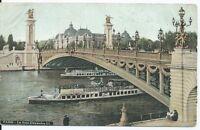 CPA  75 - PARIS - Le pont  Alexandre III