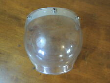 Vintage Bubble Style Snowmobile Helmet Face Shield LTC-V-200, NOS, WOW