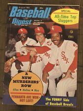 Baseball Digest August 1973 Whitesox Cover