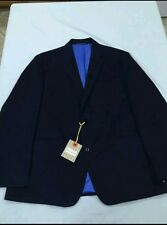 NWT ROBERT GRAHAM JACKET COLOR MULTI / NAVY BLUE  SIZE 44 $598.00