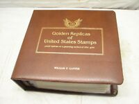 Golden Replicas of United States Stamps First Day Covers Album 1981-1982