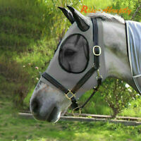 Horse Fly Mask With Ears Loaded Soft Horse Features Protection From Insect Bites