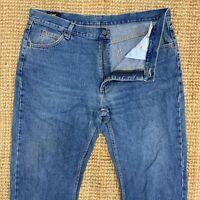 Vintage LEE Boston Men's Zip Fly DenimJeans Pant Trousers Size W38 L34