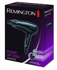 REMINGTON D3010 CERAMIC ICONIC HAIR DRYER 2000W 2KW POWER CONCENTRATOR HAIRDRYER