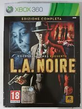 LA NOIRE ITALIANO XBOX 360 ITALIANO OTTIMO COLLECTOR LIMITED EDITION RARO