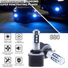 3030SMD 880 899 893 Super Bright Blue LED Fog Driving Light DRL Bulb High Power