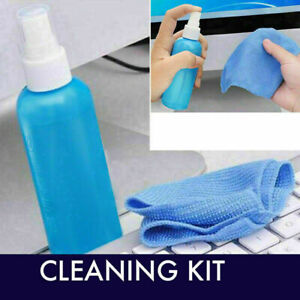 LCD Laptop Computer Notebook TV Mobile Phone Screen Cleaning Kit Cleaner
