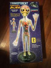 Lindberg Transparent Roswell Alien Anatomy Model Kit, brand new - sealed