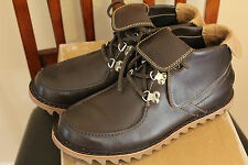 Timberland Abington Rolltop Fashion Sneaker Boot Brown Leather Mens US Sz 9M