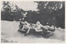 D2828 Corsa in Bob - Stampa d'epoca - 1922 vintage print