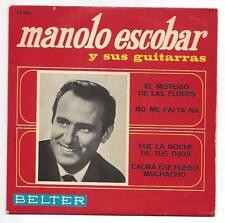 Manolo Escobar EP 60er Jahre : El Misterio de las Flores