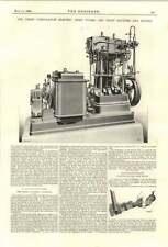 1894 Derby Corporation lumière électrique machine et Moteur Tuyau Tong substitut