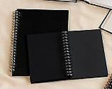 Daler Rowney Ebony Spiral Sketchbook Black Paper A5 (P)