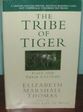 The Tribe of the Tiger, ADVANCE READING COPY, SIGNED by Elizabeth Thomas