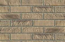 NEW - BRICK SLIPS - WALL TILES FLEXIBLE - 5 Sqm - BEIGE BRICK