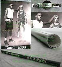 NITF Factory SEALED Nike Poster Michael Jordan Spike Lee Best On Earth Best Mars