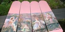 CUSTOM ~ CHILD BABY FAIRY FAIRIES CEILING FAN ~ STUNNING PHOTOGRAPHIC IMAGES!