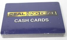 Cardinal Deal or No Deal replacement Cash cards New Sealed