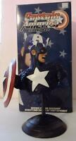 Marvel Dynamic Forces Captain America Steve Rogers Silver Age Bust #1041/1400