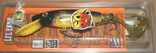 """7"""" Squirrley Little Ernie Musky Mania Pike Lure Holoform Golden Shiner SQLE-900"""