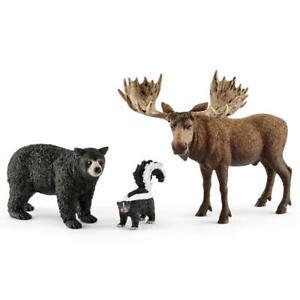 Schleich 41456 Forest Dwellers Pack North American