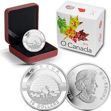 2014 O Canada 1/2 oz Silver $10 - Igloo