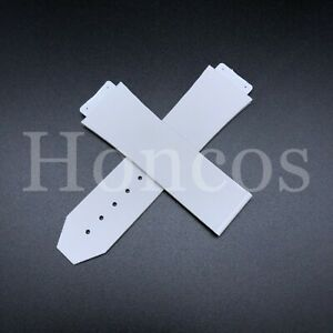 26 x 19 MM Rubber Lined Watch Strap Band For Hublot Big Bang Classic Fusion 2021