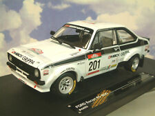 SUNSTAR 1/18 FORD ESCORT RS1800 #201 GAGNANT RALLY DE PORTUGAL REVIVAL 2010 #