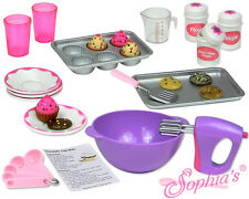"Sophia's 26 piece Baking accessory set for 18"" American Girl Doll Grace"