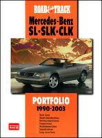 MERCEDES BOOK SL SLK CLK PORTFOLIO
