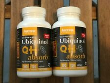 Jarrow Formulas Ubiquinol Qh-absorb 240 Softgels 100mg (2 pack)