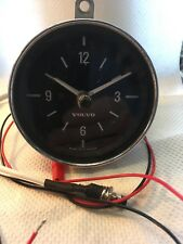 Volvo Car Clock Upgraded With Quartz Movement And Push Button Set