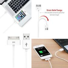 USB Charging Cable & Sync Charger Lead for Apple iPhone 4 4S 3G 3GS iPad 1/2