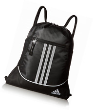 NEW ADIDAS MEDIA SAFE LINED POCKET ALLIANCE II SACK PACK BAG 5133553