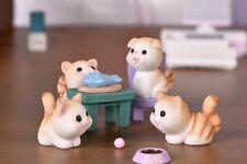 Cat Resin Miniature Décor Sculpture Kitten Figurine Home Garden Children Toy