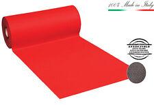 MOQUETA ROJA corredor H100 cm alfombra rojo carril navidad matrimonio iglesia