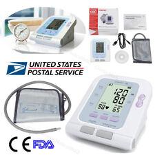 Auto Digital Arm Blood Pressure Monitor BP Cuff Machine Gauge Sphygmomanometer