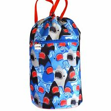 SPENCIL Sports Bag Sharks Design Water Resistant 39 X 49cm (spb-sha)