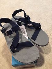 Columbia Sportswear Red River Water Sports Sandal Mens 11 Gray/navy Blue