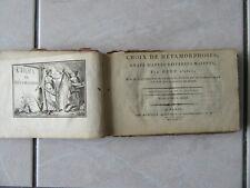 HUET CHOIX DE METAMORPHOSES GRAVURES 19° + FABLES 58 gravures FABLES D'ESOPE