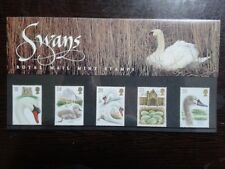 (08) - UK Mint Stamps in Presentation Pack - Swans