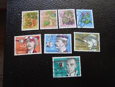 SUISSE - timbre yvert et tellier n° 1013 a 1020 obl (A2) stamp switzerland